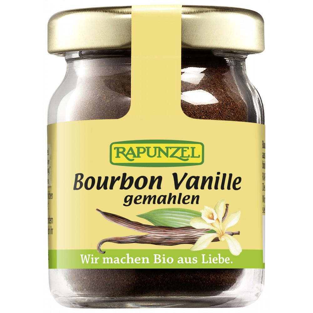 Vanilie Bourbon macinata