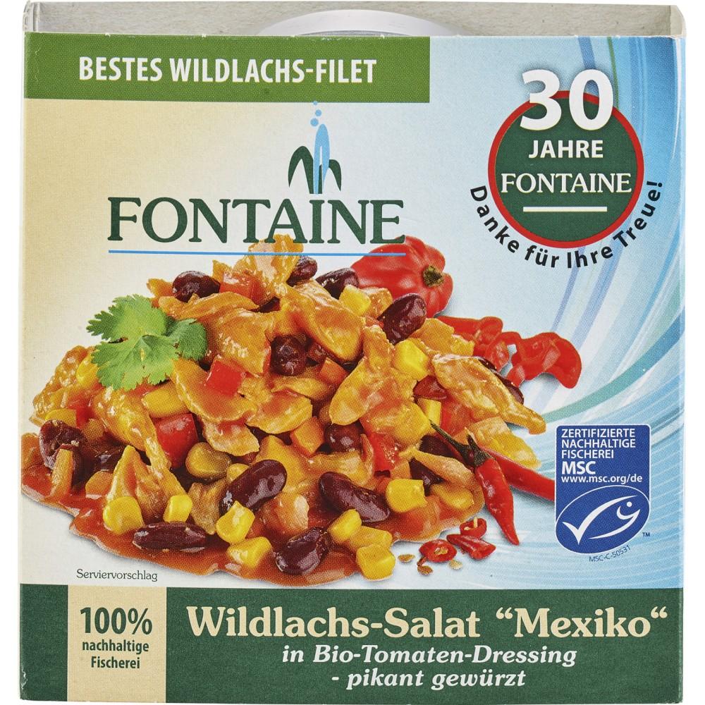 Salata mexicana cu somon salbatic