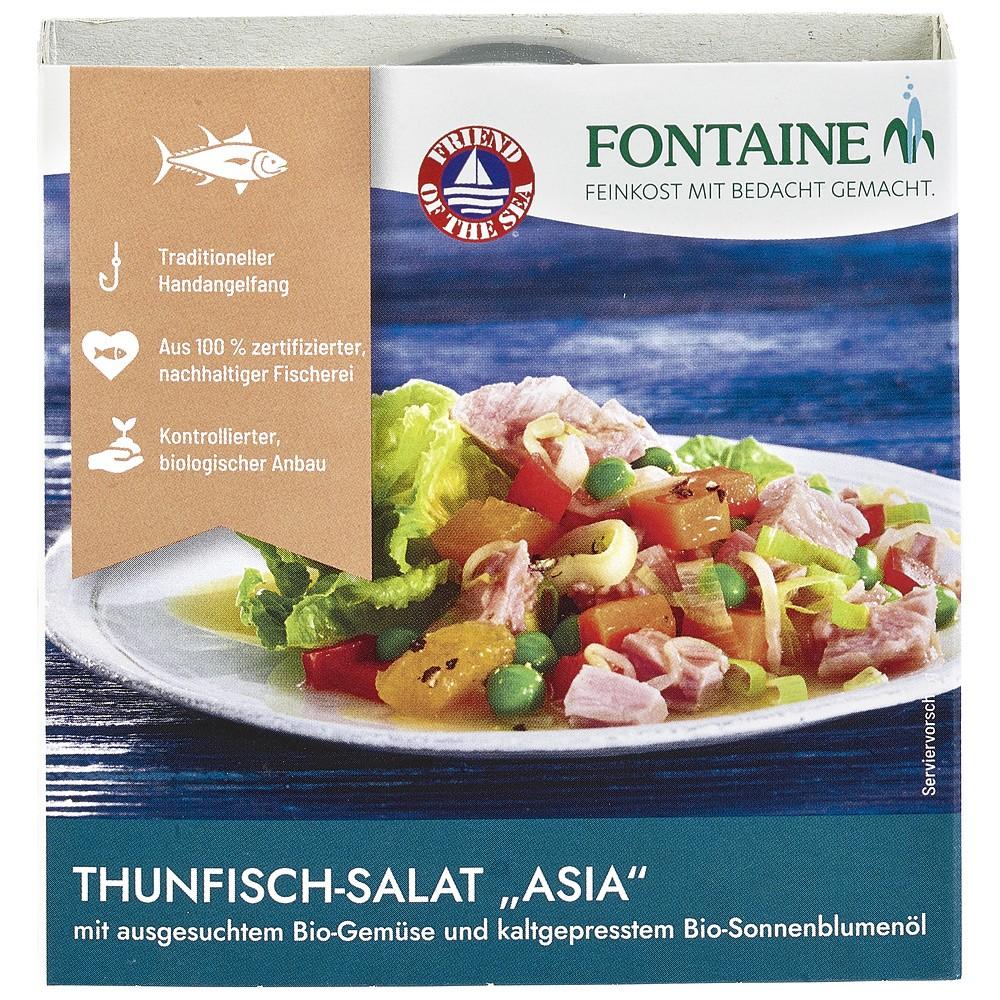 Salata de ton Asia