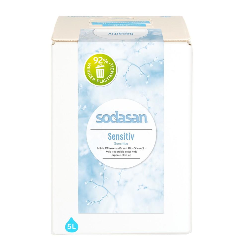 Sapun lichid pentru ingrijire naturala Sensitiv