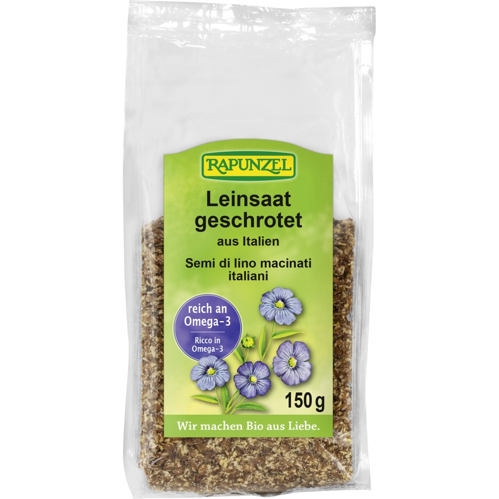 Seminte de in zdrobite organice