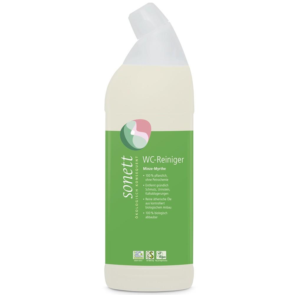 Solutie pentru curatat toaleta cu menta si mirt