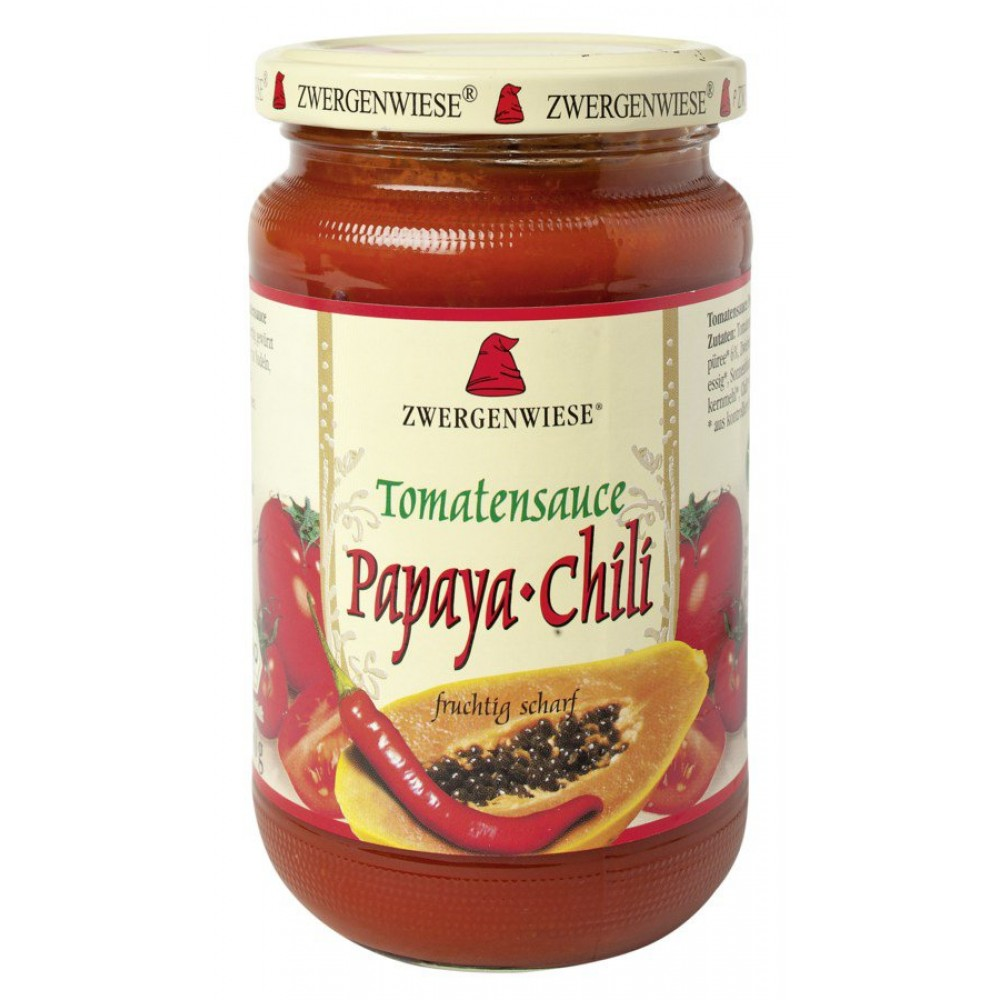 Sos de tomate bio Papaya-Chili