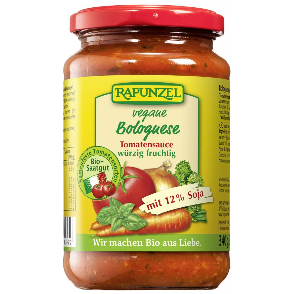 Sos de tomate Bolognese vegan