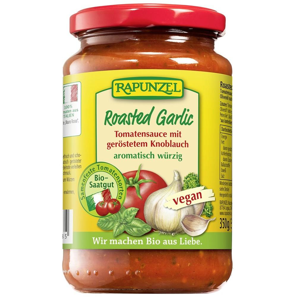 Sos de tomate cu usturoi prajit