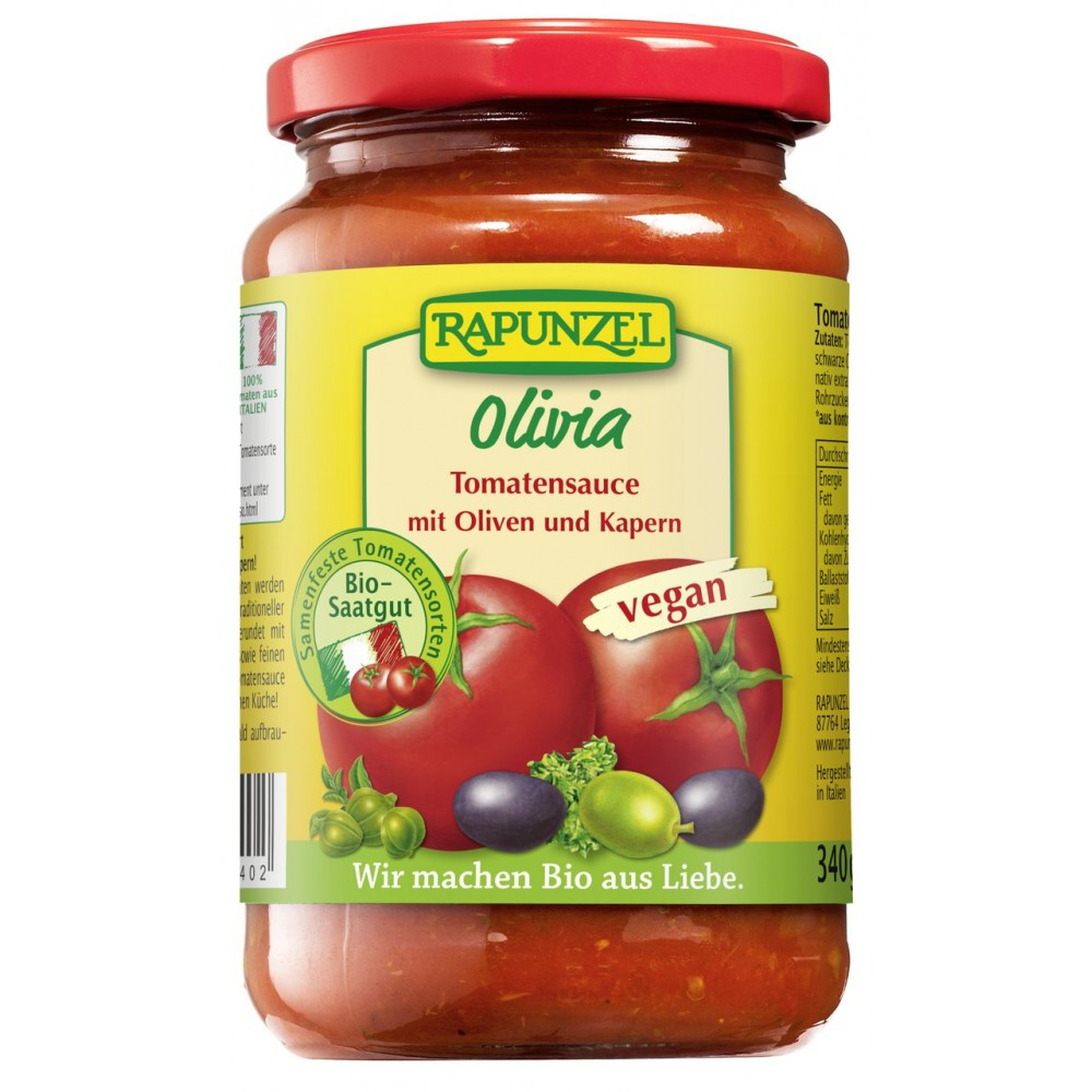 Sos de tomate Olivia bio