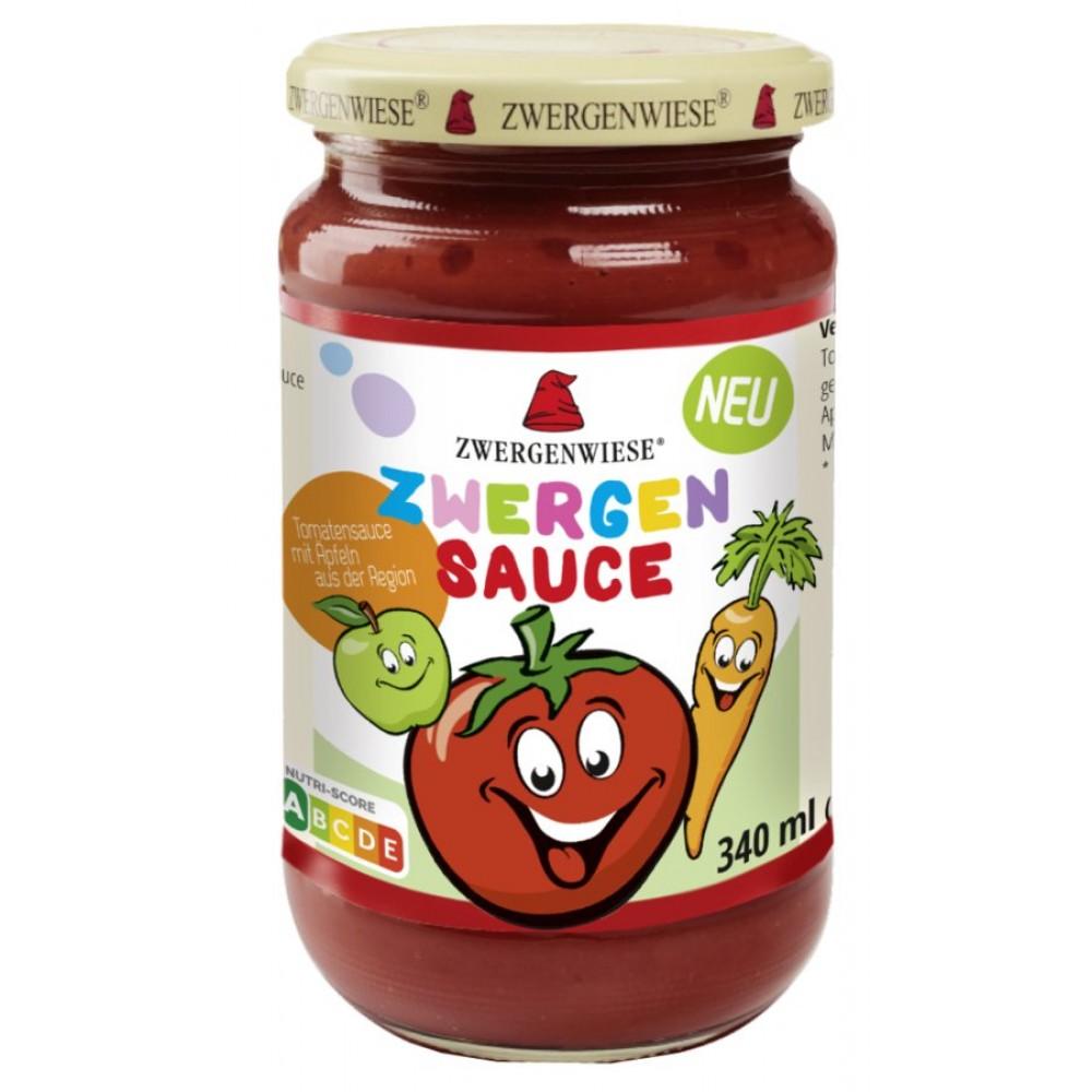 Sos de tomate pentru copii cu mere si morcovi