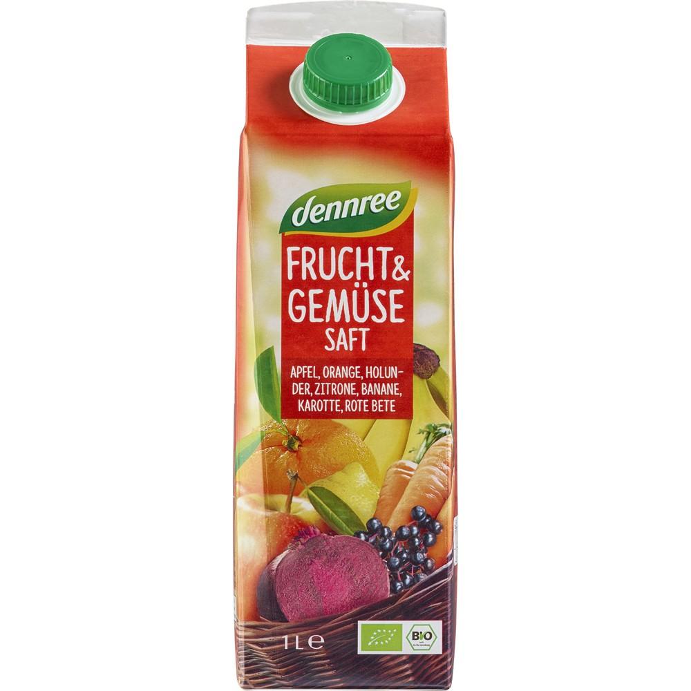Suc rosu de fructe si legume