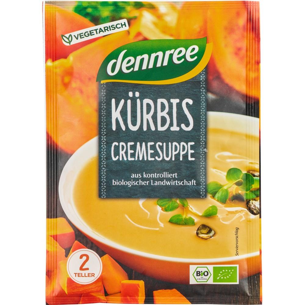 Supa crema de dovleac, la plic