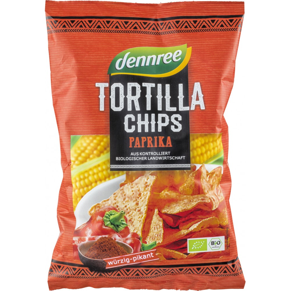 Tortilla chips cu ardei