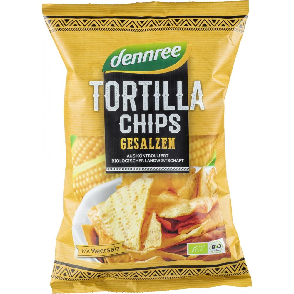Tortilla chips cu sare