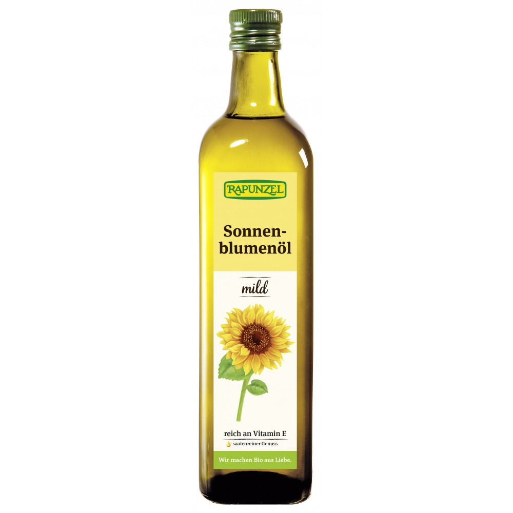 Ulei bio de floarea soarelui fin