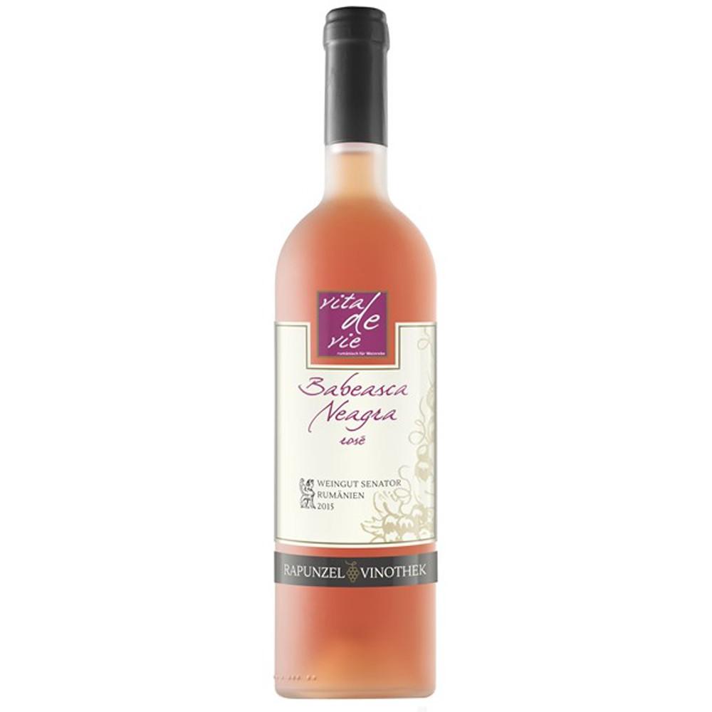 Vin Babeasca Neagra rose bio