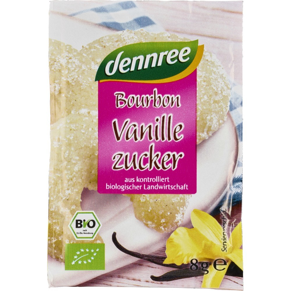 Zahar vanilat Bourbon 3x8g
